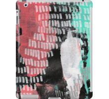 Midnight Garden - Textured Abstraction iPad Case/Skin