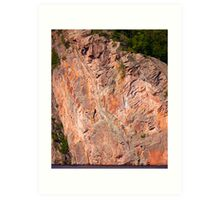 Cliffs of Bon Echo Provincial Park Art Print
