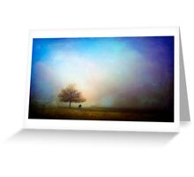 Skin Of The Sky Greeting Card