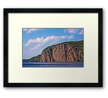 Bon Echo Provincial Park Cliffs Framed Print