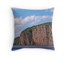 Bon Echo Provincial Park Cliffs Throw Pillow