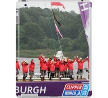 Edinburgh Round the world Clipper Crew Leaving Derry 07/07/2012 iPad Case/Skin