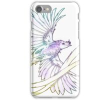 Ribbon-tailed Astrapia iPhone Case/Skin