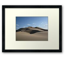 Mongolian Dunescape Framed Print