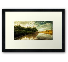Reflections On The Manning Framed Print
