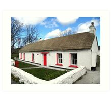 Homestead Donegal Ireland  Art Print