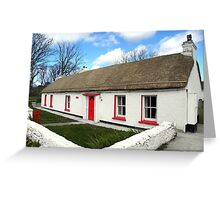 Homestead Donegal Ireland  Greeting Card