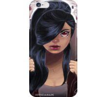 Hooded Girl Revealed iPhone Case/Skin