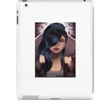 Hooded Girl Revealed iPad Case/Skin