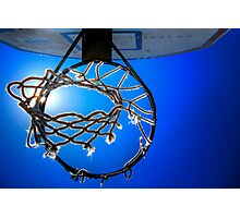 Hoop Blue Photographic Print