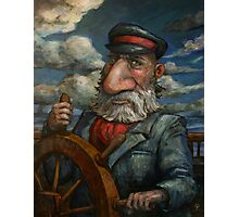 Old Man and The Sea Photographic Print