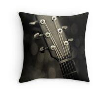 Guitar Head Throw Pillow