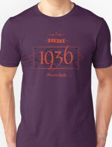 Since 1936 (Red&Black) T-Shirt
