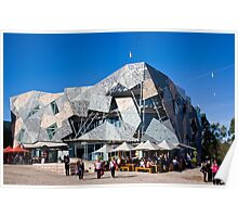 Federation Square Melbourne Poster