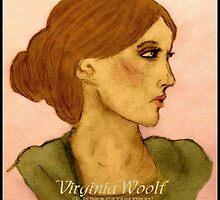 Virginia Woolf by lilynoelle