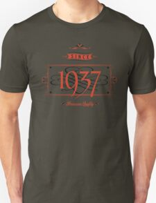 Since 1937 (Red&Black) T-Shirt