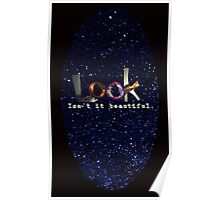 i can't look away Poster