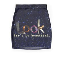 i can't look away Mini Skirt