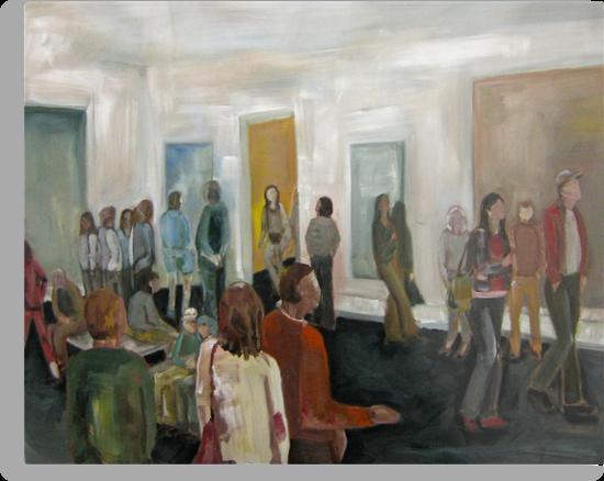 Looking At, Looking At by Tara Burkhardt