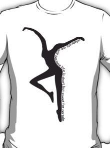 Dave Matthews Band- Dancer with Two Step Lyrics T-Shirt