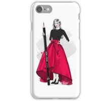 The Fashion Illustrator iPhone Case/Skin
