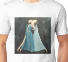 Blue Dancers Unisex T-Shirt