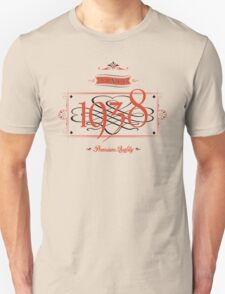 Since 1938 (Red&Black) Unisex T-Shirt