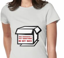 give generously Womens Fitted T-Shirt