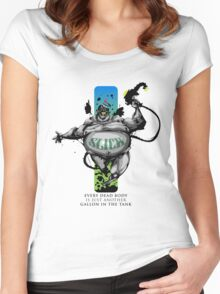 St Slick of our Beautiful Petroleum Women's Fitted Scoop T-Shirt