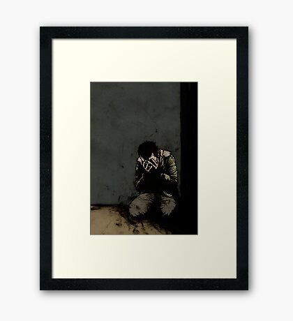 What I Did Along The Way, Well I Wouldn't Care To Say Framed Print