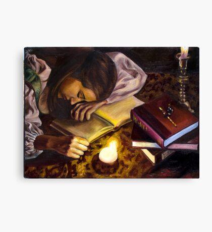 The Renaissance Reader Canvas Print