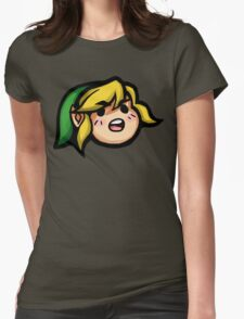 Hah! HYAH!!! Womens Fitted T-Shirt