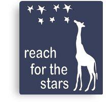 REACH FOR THE STARS Canvas Print