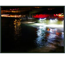 water, light and movement Photographic Print
