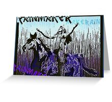 Rainmaker - Make It Rain Greeting Card