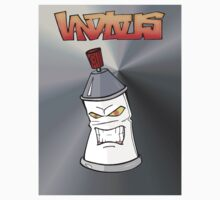 Spraycan Man Metal by Donald Norby