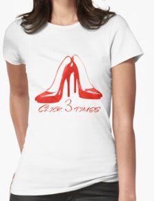 Ruby Slippers Womens Fitted T-Shirt