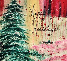 Happy Holidays by Jenny Kimble