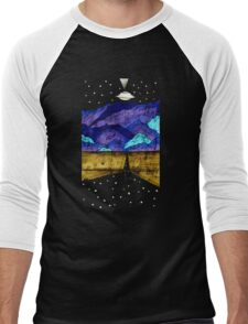 Extraterrestrial Highway  Men's Baseball ¾ T-Shirt