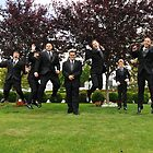 Jump by the groomsmen by Carl LaCasse