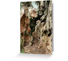pawon cave Greeting Card