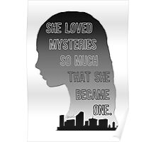 Paper Towns Margo- Monochrome Poster