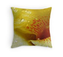 An Evolutionary Advantage: The Tiger Lily Series Throw Pillow