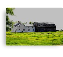 Old House/Barn Attachment Canvas Print