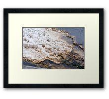 Mammoth Mineral WTF Framed Print