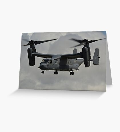 Bell-Boeing CV-228 Osprey(United States Air Force) Greeting Card