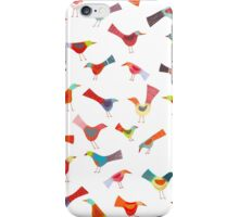 Birds doing bird things iPhone Case/Skin