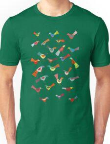 Birds doing bird things Unisex T-Shirt