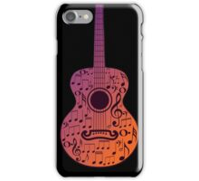 Guitar and Music Notes 3 iPhone Case/Skin