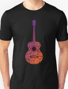 Guitar and Music Notes 3 Unisex T-Shirt